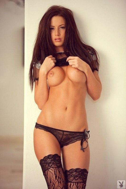 голые в кружевном белье фото